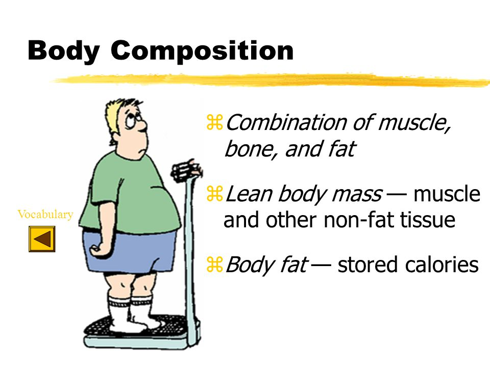 Calculating Body Fat and Lean Body Mass Body Fat lbs.