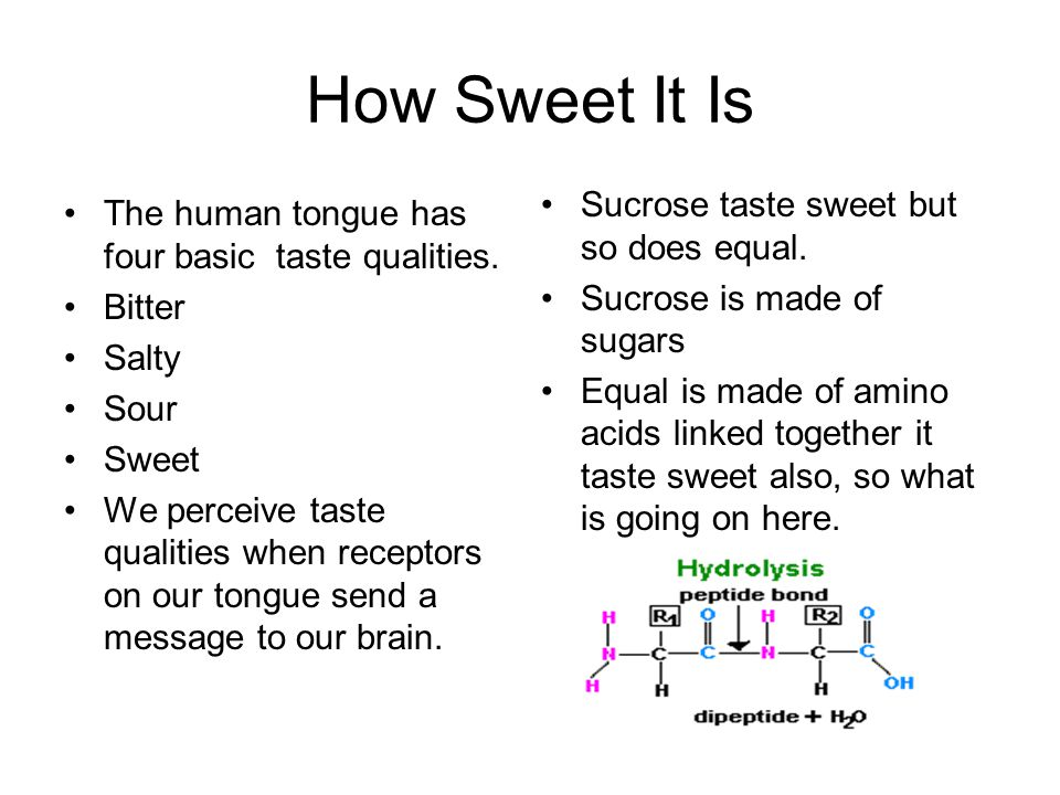 Its all about how tightly the molecules fit into the receptors on the tongue.