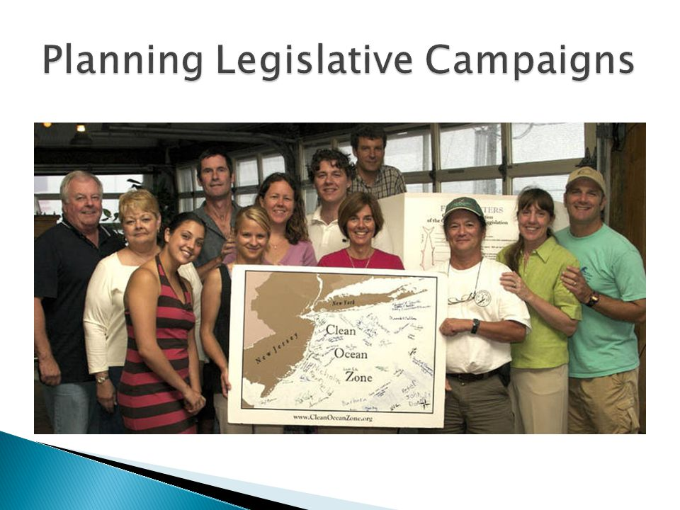  Legislative advocacy is generally considered to be a type of social action (strategy to affect social change).