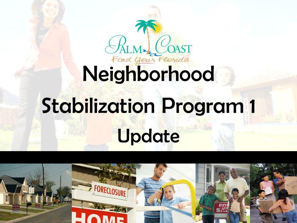 Neighborhood Stabilization Program 1 Update