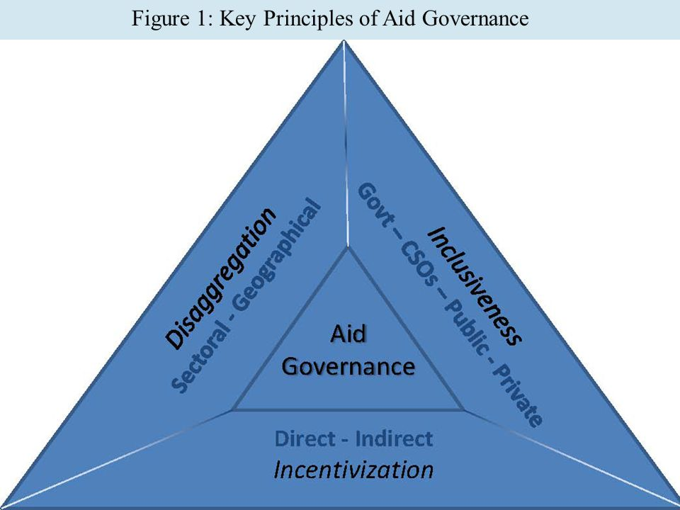 20 Figure 1: Key Principles of Aid Governance