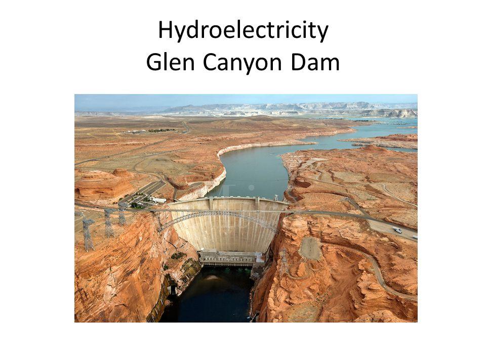 Hydroelectricity Glen Canyon Dam