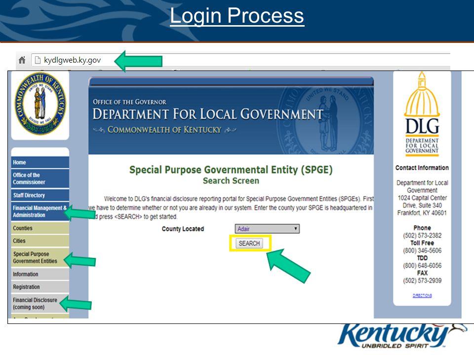 Login Process