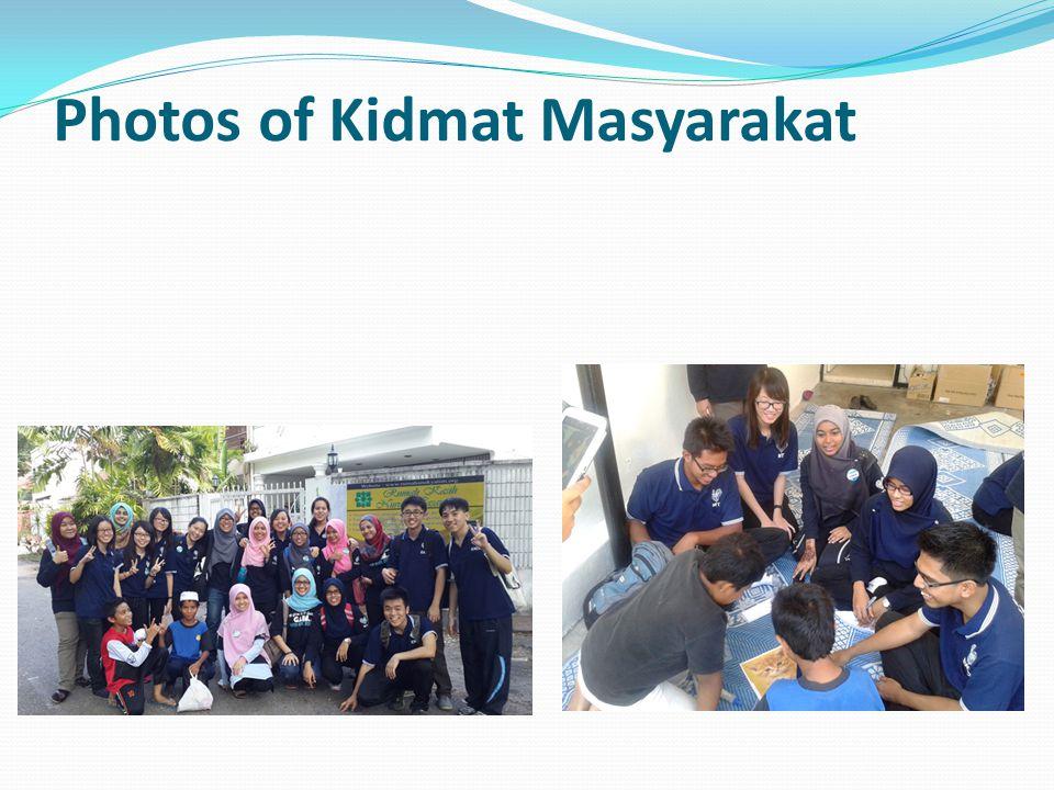 Photos of Kidmat Masyarakat