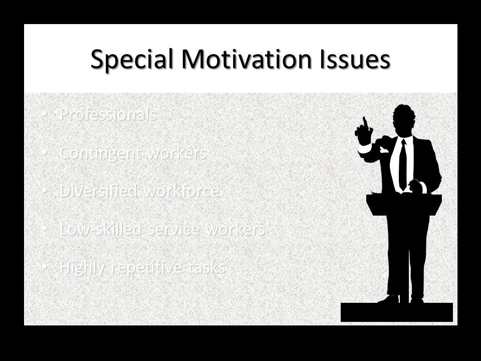An Integrative Model of Motivation Personal Goals Personal Goals Individual Performance Individual Performance Individual Effort Individual Effort Goa