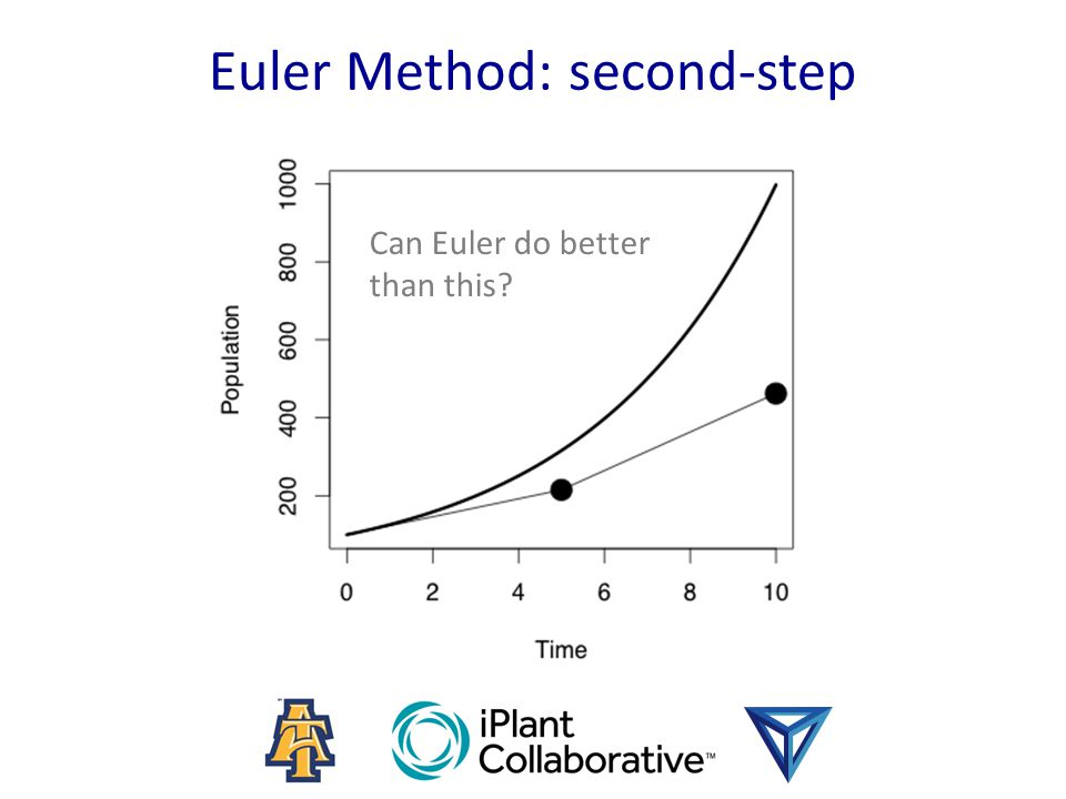 Euler Method: second-step Can Euler do better than this?