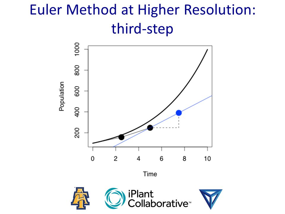 Euler Method at Higher Resolution: third-step