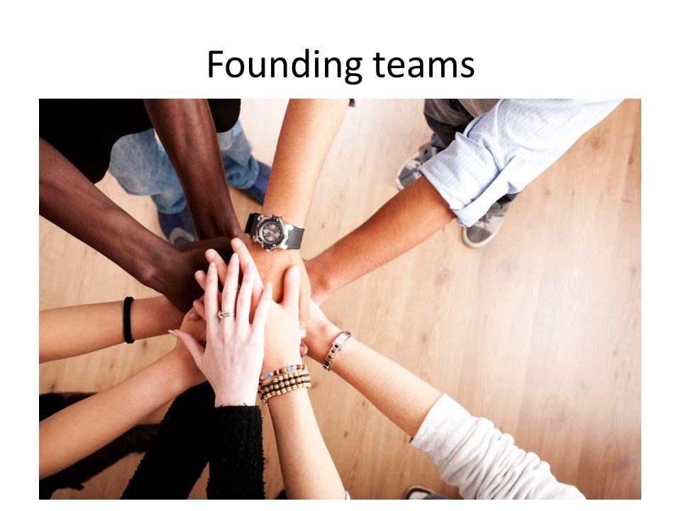 Founding teams