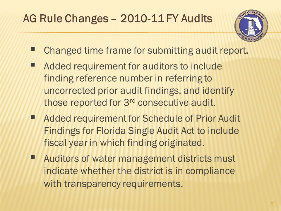 New AG Procedure - Review Questions Most Missed in Desk Reviews 30 Auditor's Reports If a local government's Schedule of Expenditures of Federal Awards indicates the following: U.S.