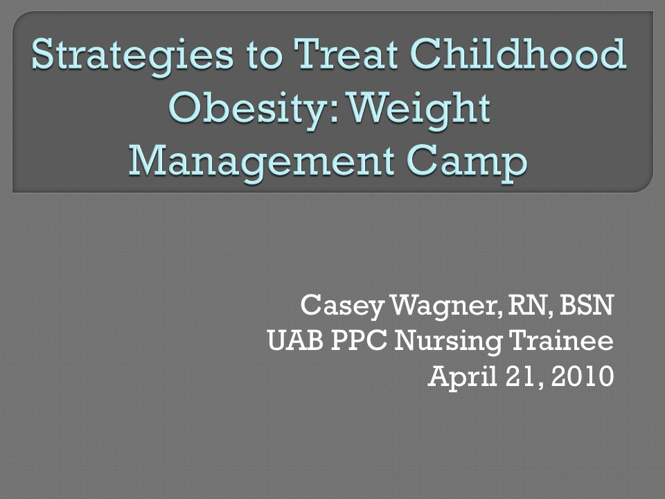  Framework: lifestyle enhancement and family involvement would improve children ' s health  Aim: evaluate the effects of a hospital-based, family-centered lifestyle program on weight and health in overweight 7-17-year-olds  Intervention: 12 90-minute sessions held 1x/week at local children ' s hospital  Results: significant  in BMI,  child perceived health & function, improved family cohesion (Dreimane et al., 2007)