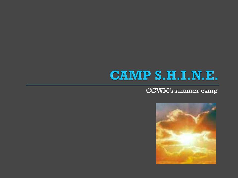 CCWM's summer camp