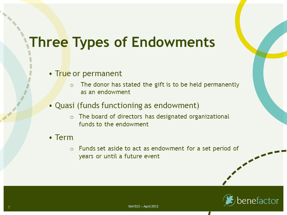Worksheet 1: Are You Ready to Build Endowment.