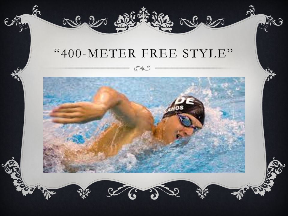 400-METER FREE STYLE