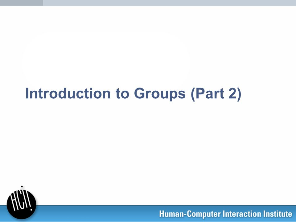 Introduction to Groups (Part 2)