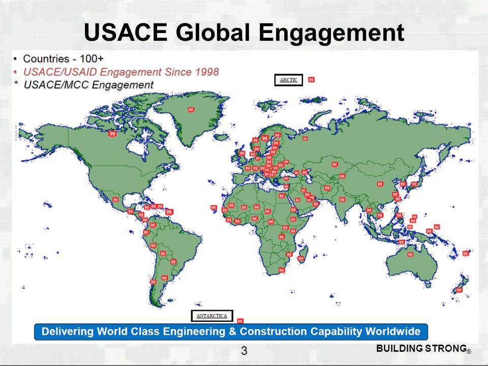 BUILDING STRONG ® USACE Global Engagement 3