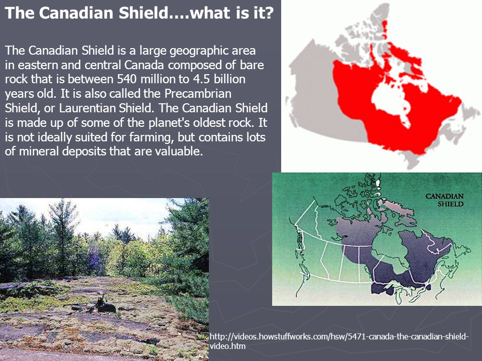 The Canadian Shield….what is it.