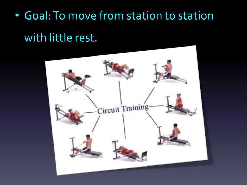 Goal: To move from station to station with little rest.