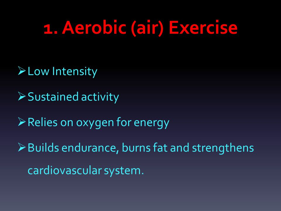  To reach aerobic fitness you must increase your heart rate to 60-80% and maintain for at least 20 minutes.