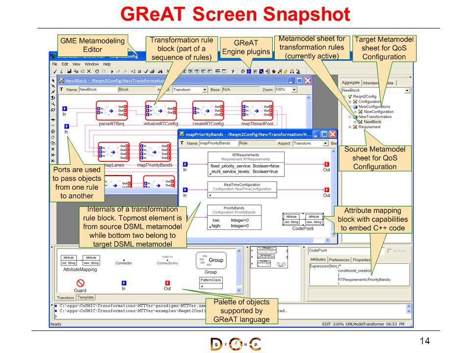 GReAT Screen Snapshot 14