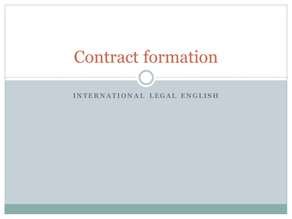 Match the questions with paragraphs that answer them A What form can an enforceable contract take.