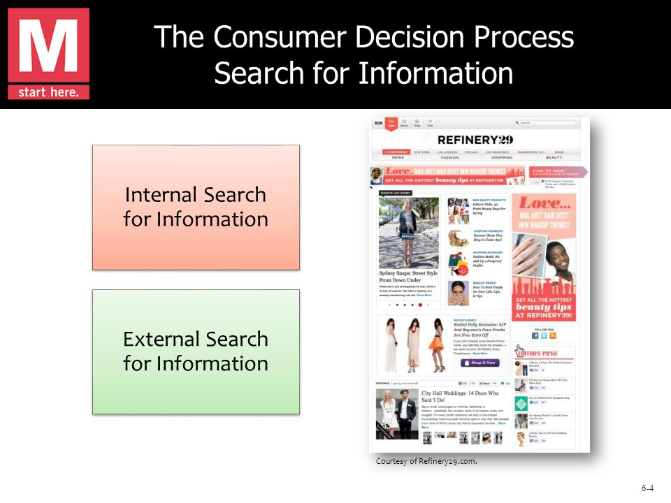Return to slide 6-35 Involvement is the consumer's degree of interest in the product or service.