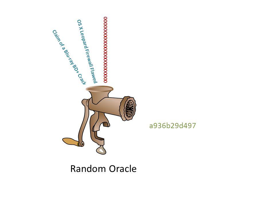 OS X Leopard Firewall Flawed Claim of a Blu-ray BD+ Crack 000000000000000000000000 18e039ca12b Random Oracle a936b29d497