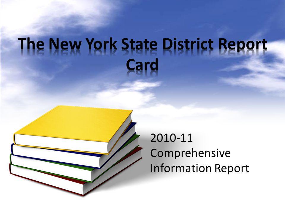 2010-11 Comprehensive Information Report