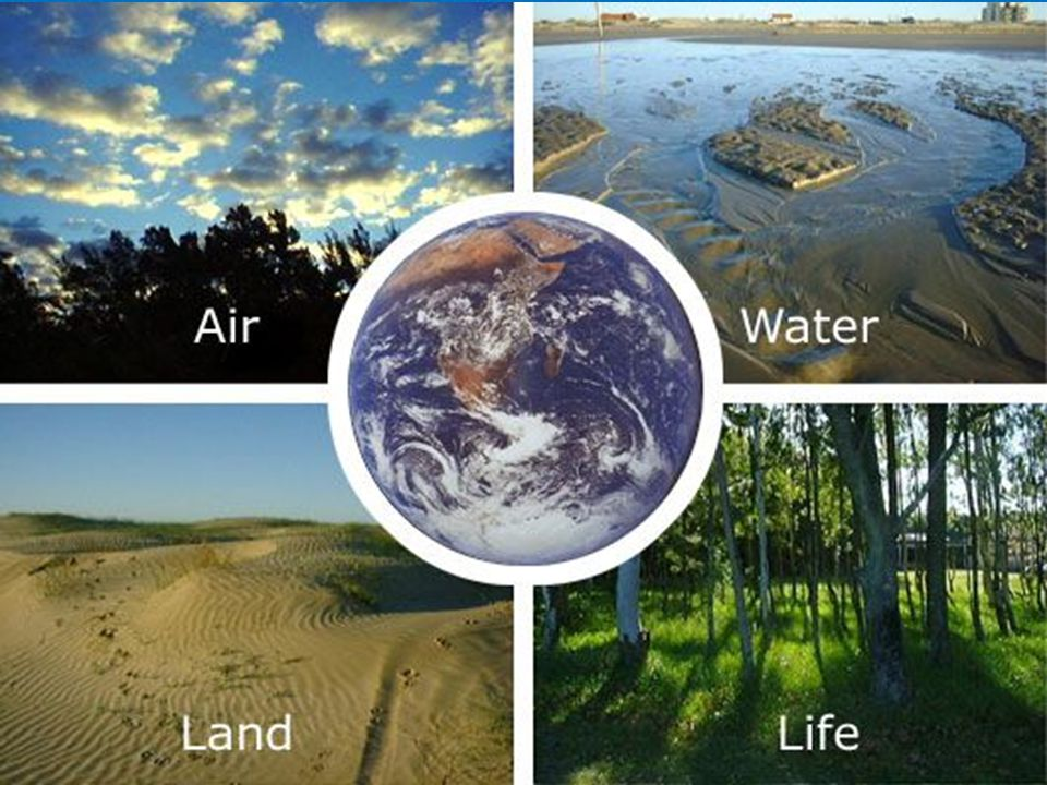 THE SPHERES OF EARTH The Atmosphere The Geosphere The Hydrosphere The Biosphere