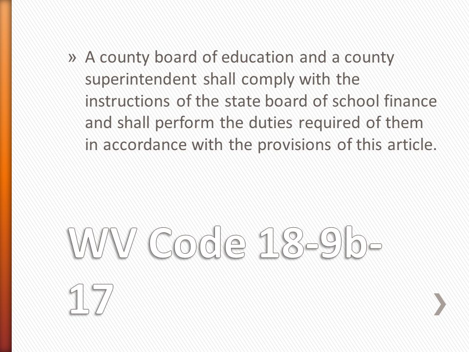 » A county board of education and a county superintendent shall comply with the instructions of the state board of school finance and shall perform the duties required of them in accordance with the provisions of this article.