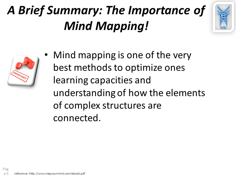 A Brief Summary: The Importance of Mind Mapping.