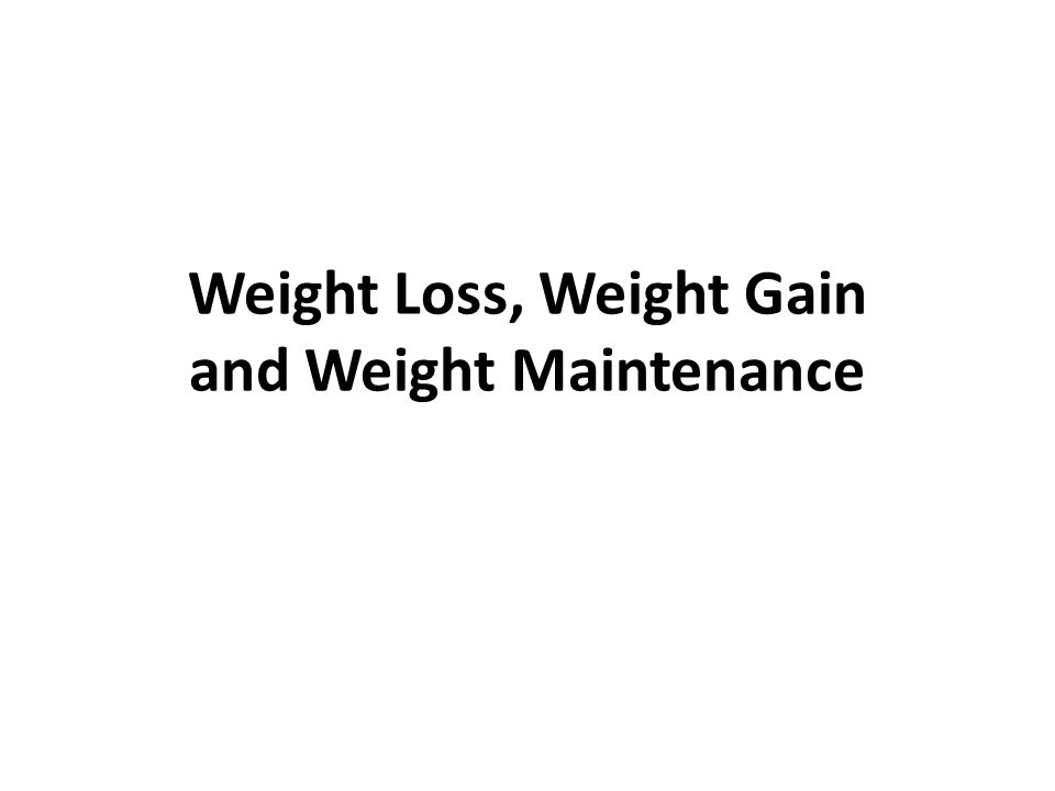 Weight Gain Adequate caloric intake –2500-3500 kcal per pound of muscle –1 pound of gain per week or 400-500 kcals per day Adequate protein intake (0.8-2 g/kg) Adequate stimulus of skeletal muscle Adequate recovery for muscle Adequate hormonal environment –Timing of protein intake –Supplements