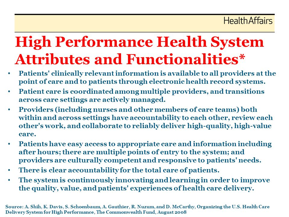 Common Themes Convenience sample Variety of settings (context) – Health Systems, Health Plans, Hospitals, Physician Networks, FQHCs, Professional Societies, States Assessment according to logic model of change (Prochaska Behavioral Model) – Knowledge of problem: A+++++ – Tools (innovations): B – Motivation (Incentives, Will): F
