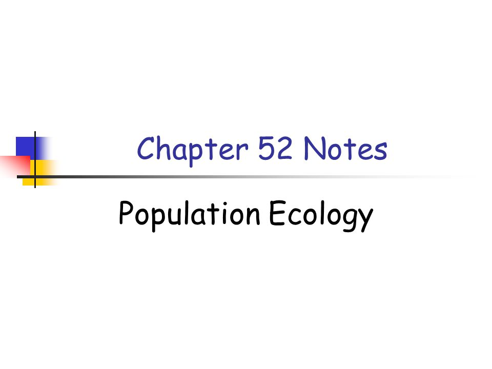 Characteristics of Populations Population: a group of individuals of a single species that simultaneously occupy the same general area Two important characteristics of any population are density and the spacing of individuals Density: the number of individuals per unit area of volume