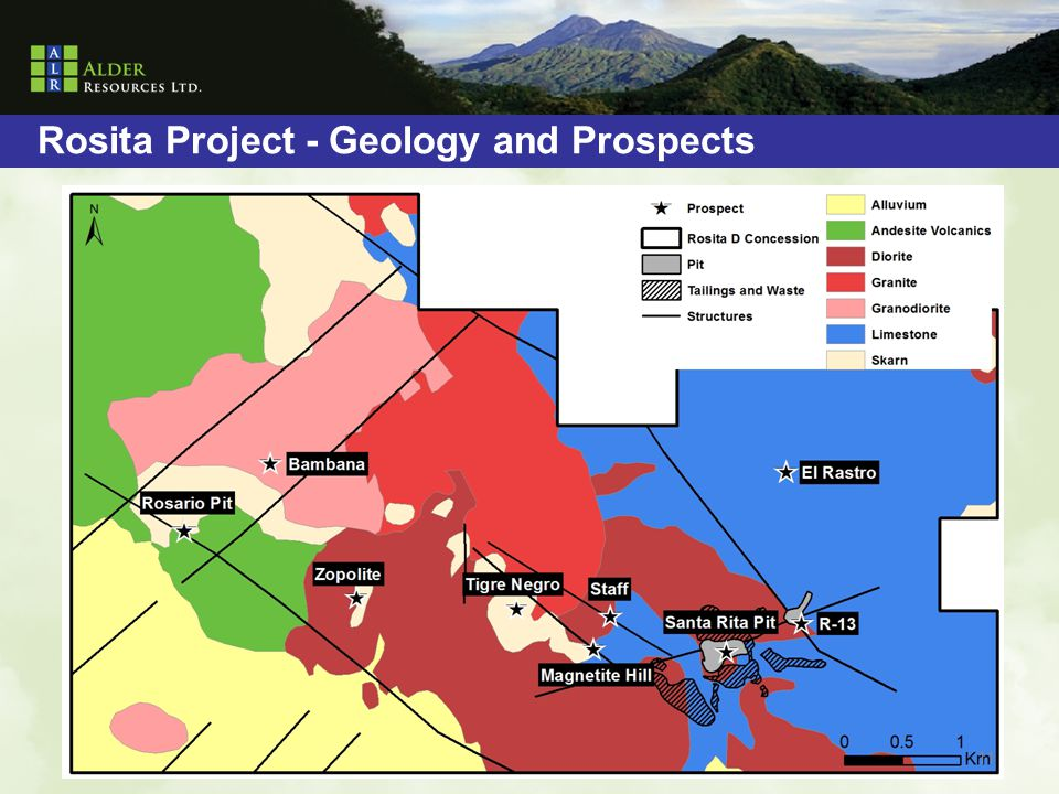 Rosita Project - Geology and Prospects 11