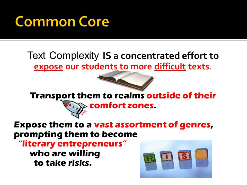 What is text complexity and Why is text complexity important