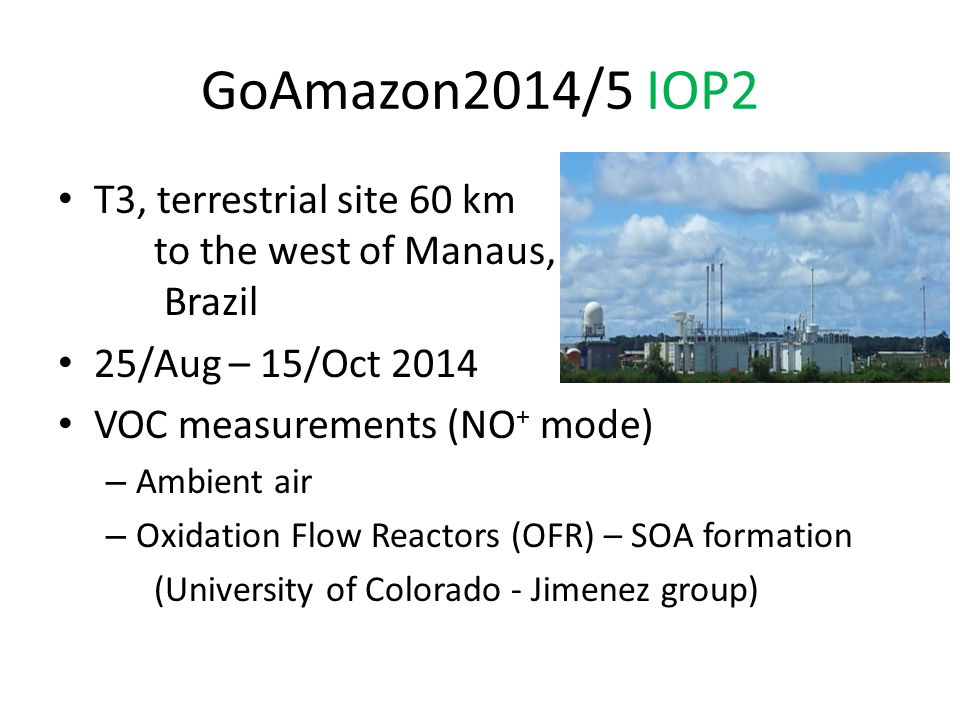 GoAmazon2014/5 IOP2 Ambient air & OFR