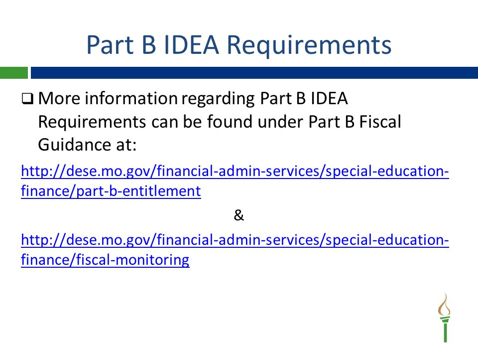 ePeGS System — IDEA Part B ePeGS Training Guide Series http://dese.mo.gov/financial-admin-services/special- education-finance/part-b-funding-and-allocations