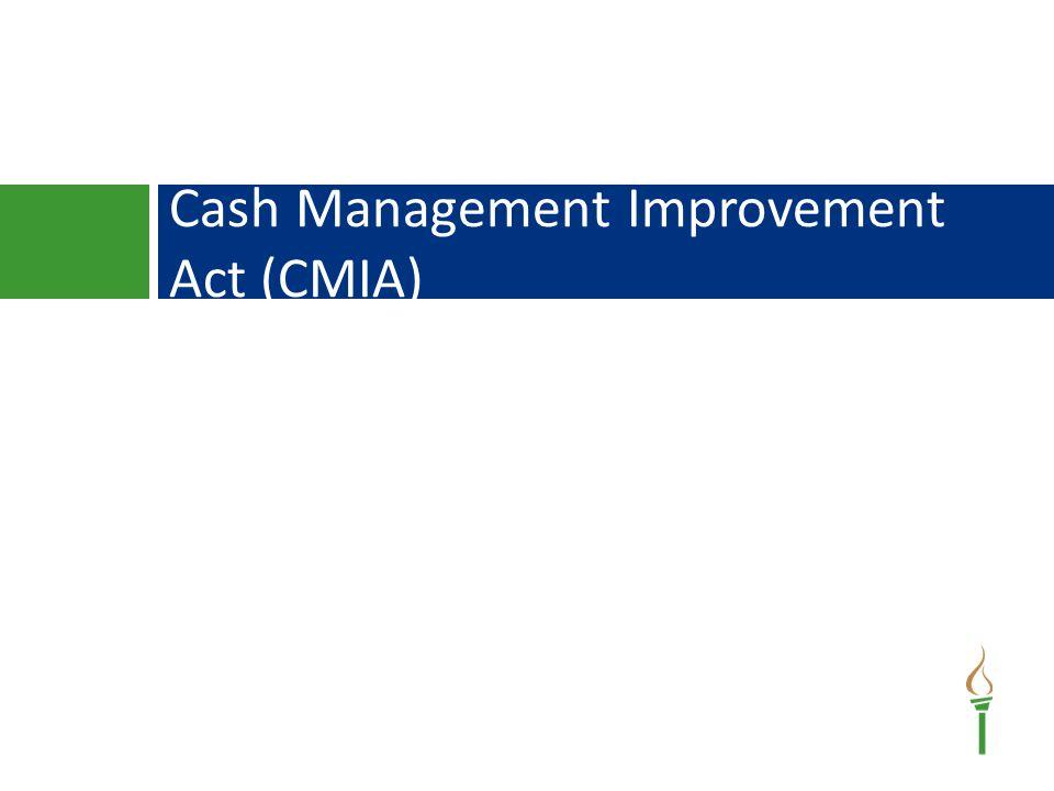 Cash Management Improvement Act