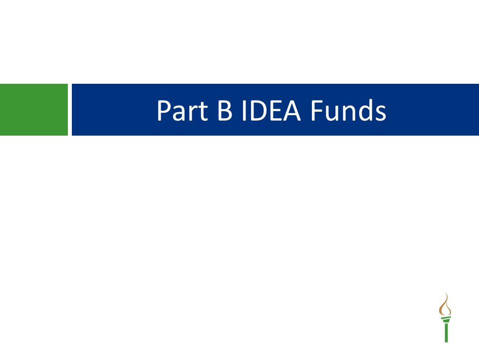 Part B IDEA Funds