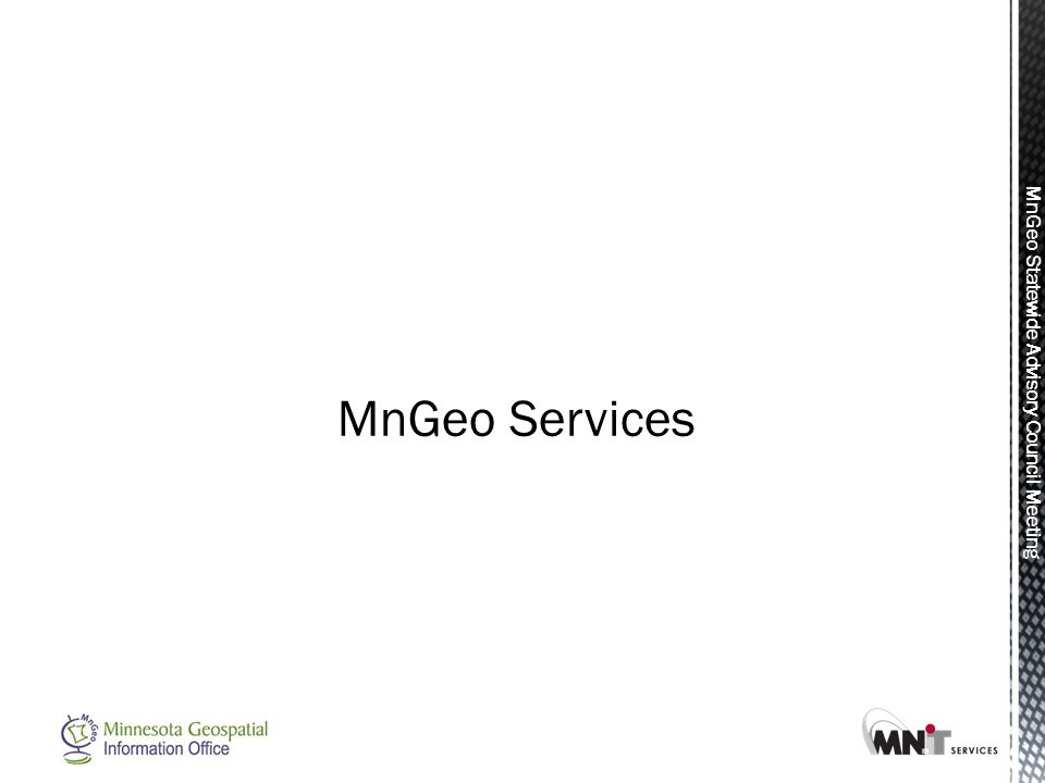 MnGeo Statewide Advisory Council Meeting