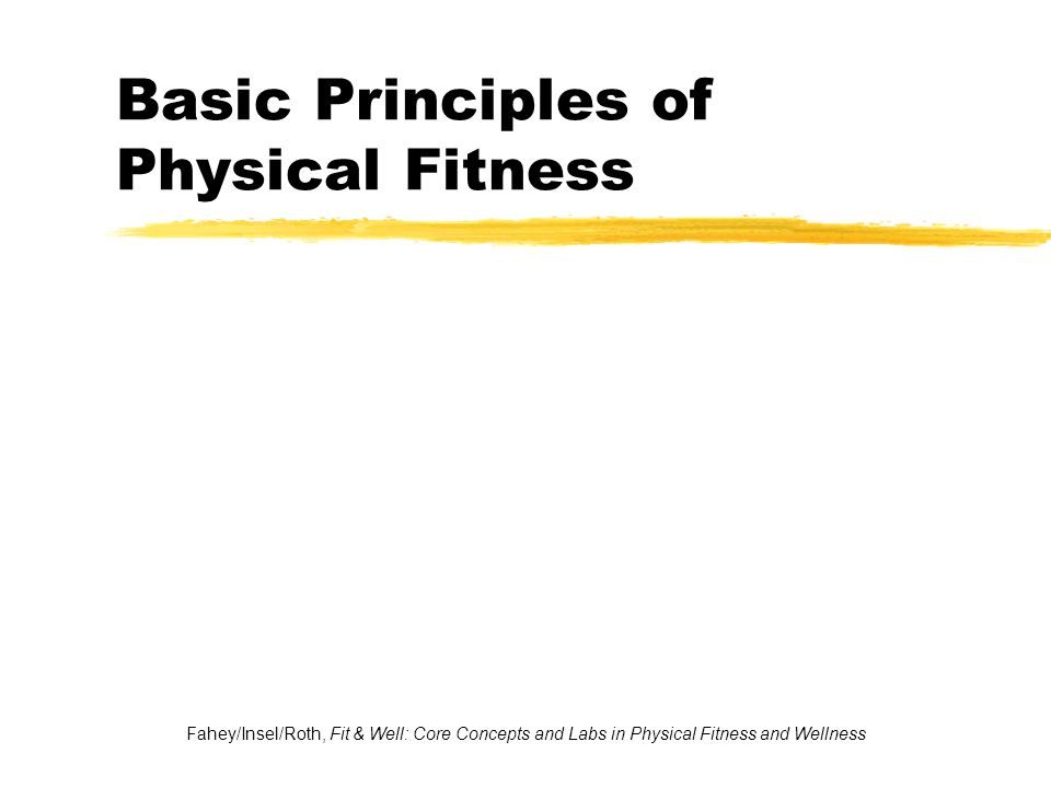 Health-Related Components of Physical Fitness 5.