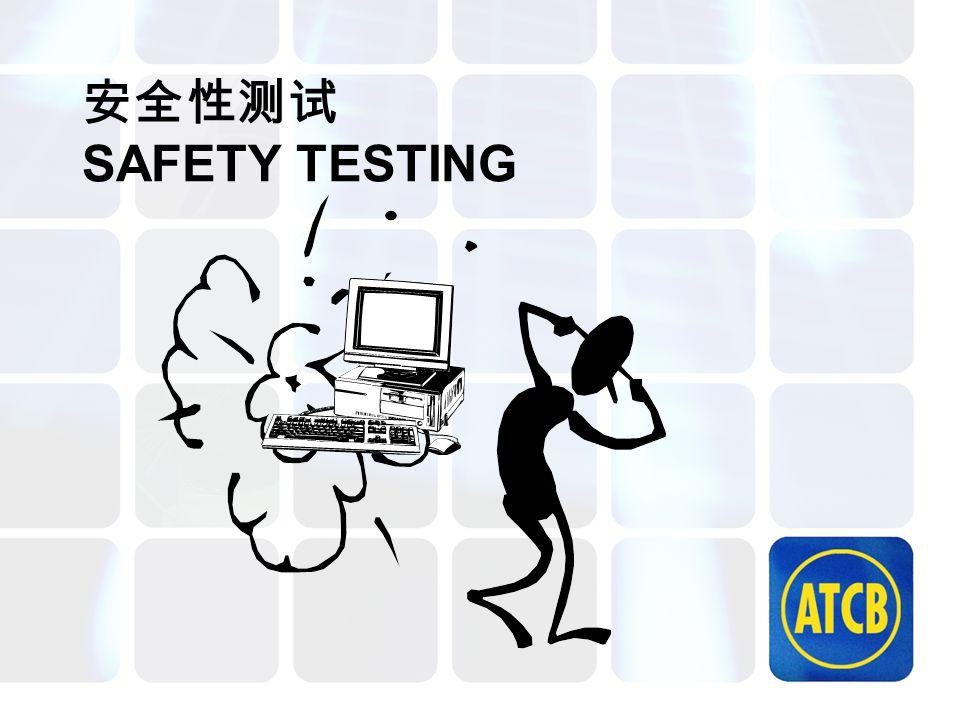 安全性测试 SAFETY TESTING