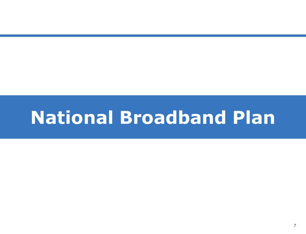 NBP 7 National Broadband Plan