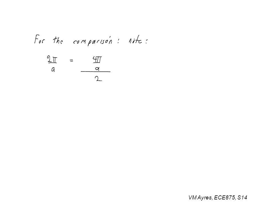 VM Ayres, ECE875, S14