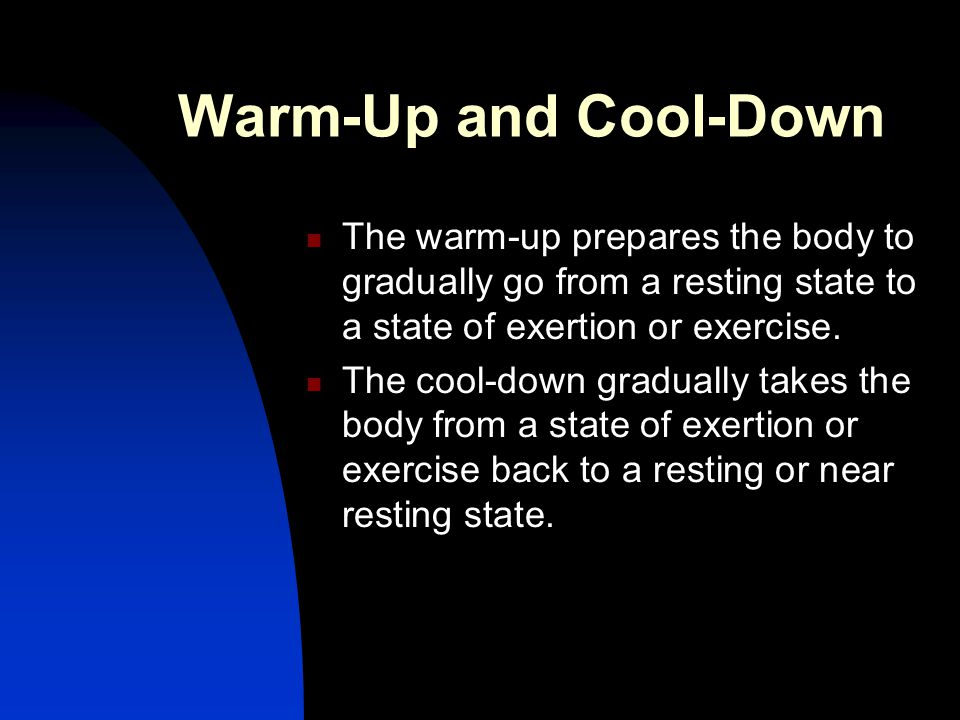 Environment and Exercise Exercising in hot weather can be dangerous…  Impaired regulation of internal core temperature  Rising body temperatures can cause heat cramps, heat exhaustion, heatstroke, and even death  Loss of body fluids  Loss of electrolytes  Electrolytes help regulate water distribution in the body