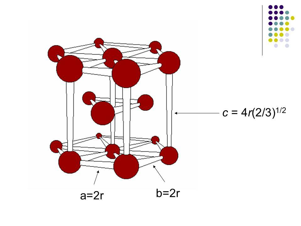 a=2r b=2r c = 4r(2/3) 1/2