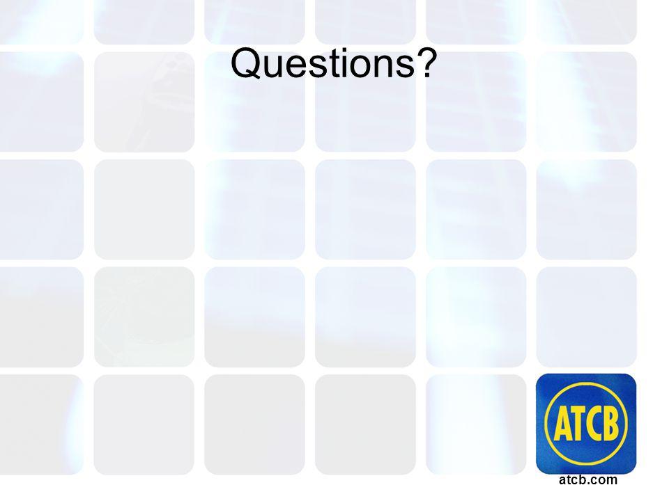atcb.com Questions?