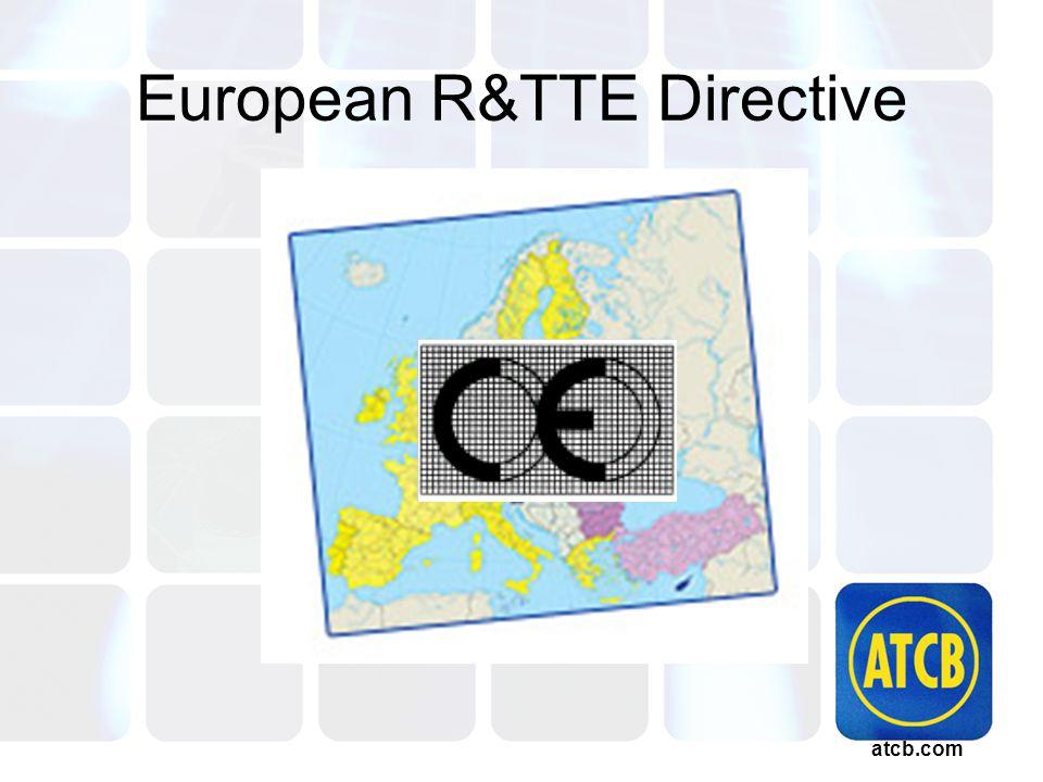 atcb.com European R&TTE Directive