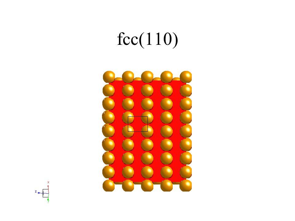 fcc(110)