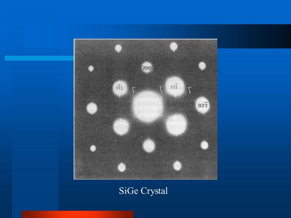 SiGe Crystal